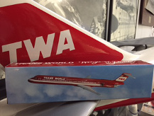 TWA Wings of Pride Model